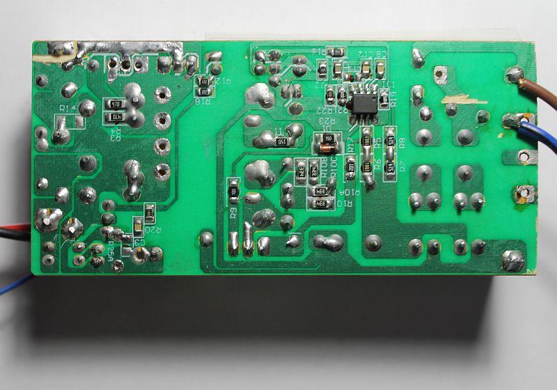Импульсный блок питания, выпаян резистор R25A